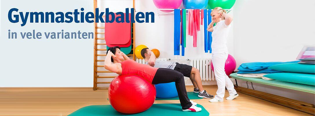 Gymnastiekballen: in vele varianten