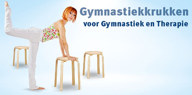 Gymnastiekkrukken: voor Gymnastiek en Therapie