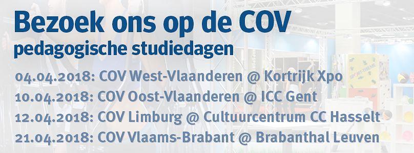 Bezoek ons in COV Oost-Vlaanderen at ICC Gent