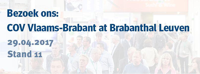 Bezoek ons: COV Vlaams-Brabant at Brabanthal Leuven
