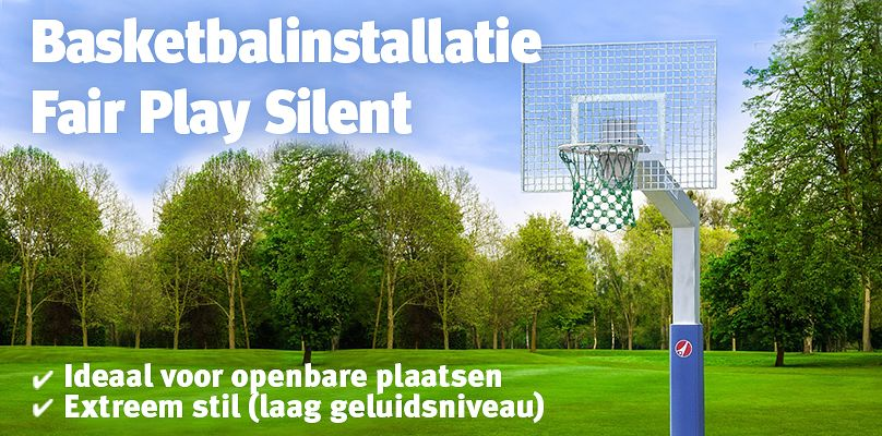 Basketbalinstallatie Fair Play Silent