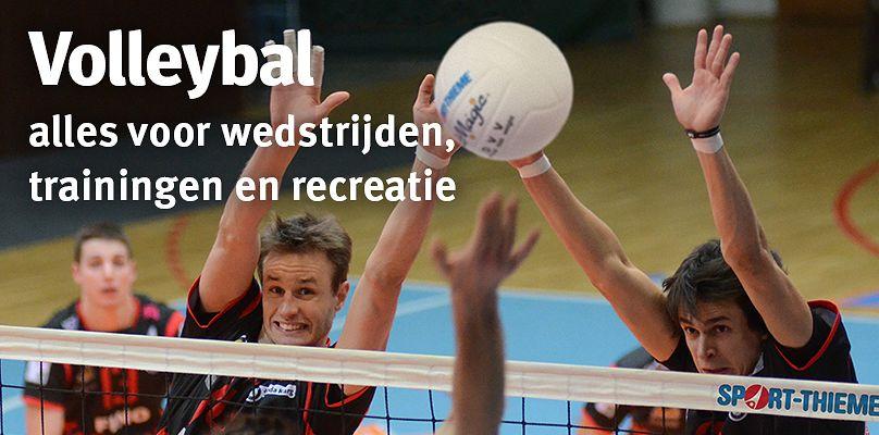 Volleybal: alles voor wedstrijden, trainingen en recreatie